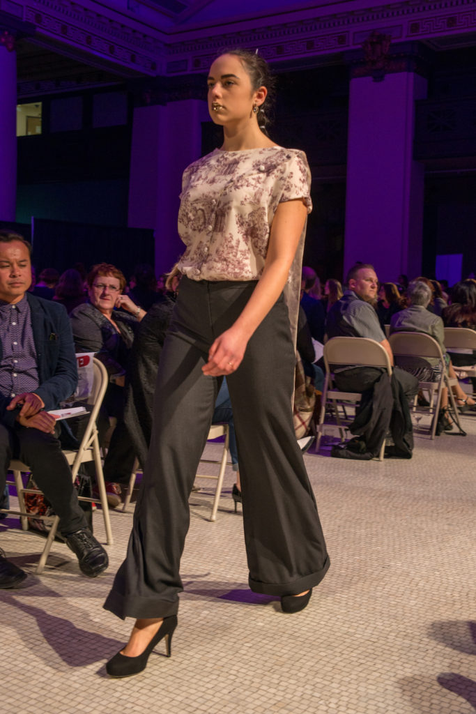 Stitch & Treadle - MC College Winnipeg - 2016 New Designer Fashion Show